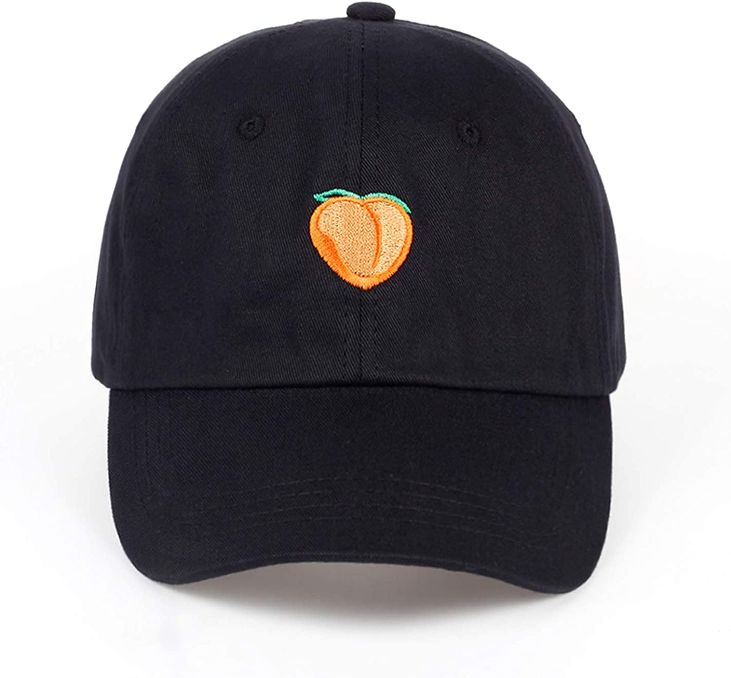 Wilbur Gold Autumn Womens Cotton hat Fashion Men and Women Should be Adjusted Adult hat Embroidery Peach Baseball Cap