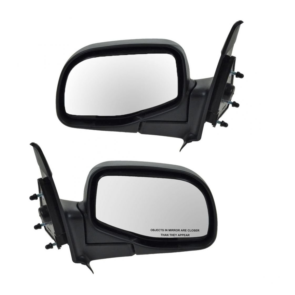 98-05 Ranger B-Series Pickup Truck Manual Rear View Mirror Right Passenger Side