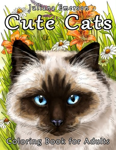 Cute Cats Coloring Book Adults product image