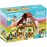 Playmobil - Barn with Lucky, PRU and Abigail - 70018