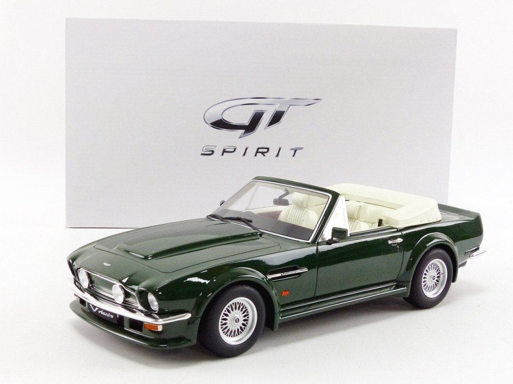 GT Spirit Aston Martin V8Vantage Volante-Scale 1/18 zm091-Green
