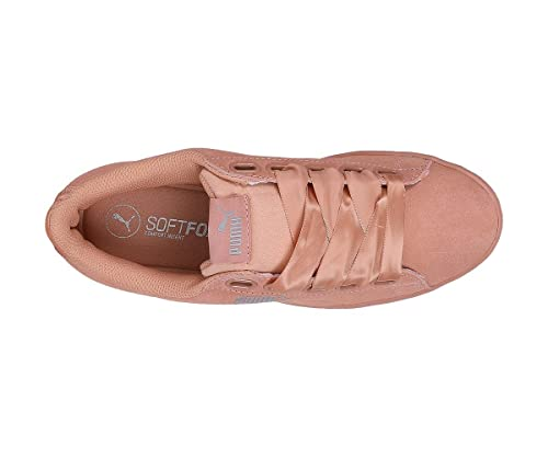 b0fe37bf75ca Puma Vikky Ribbon S Peach  Buy Online at Low Prices in India - Amazon.in