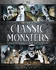 Universal Classic Monsters: Complete 30-Film Collection [Blu-ray] by Universal Studios Home Entertainment