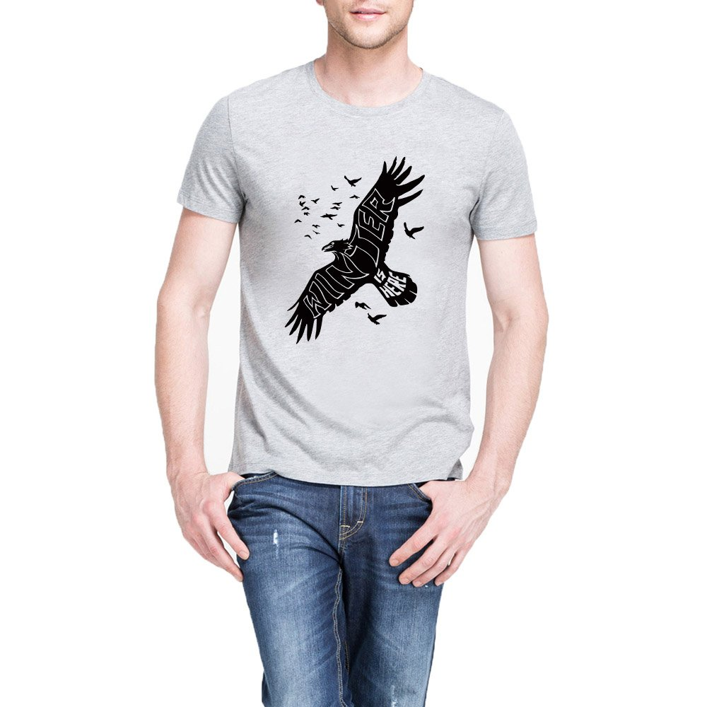 Loo Show S Winter Raven Winter Is Hers Casual T Shirts Tee