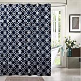 JaHGDU Shower Curtain 1pcs Shower Curtain Polyester Material Mildewproof Thickened Durable Partition Curtain Hotel Shade Super Quality Opaque Bathroom Amenities (Size : 70x72inch)
