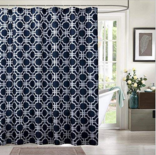 JaHGDU Shower Curtain 1pcs Shower Curtain Polyester Material Mildewproof Thickened Durable Partition Curtain Hotel Shade Super Quality Opaque Bathroom Amenities (Size : 70x72inch) by JaHGDU (Image #2)