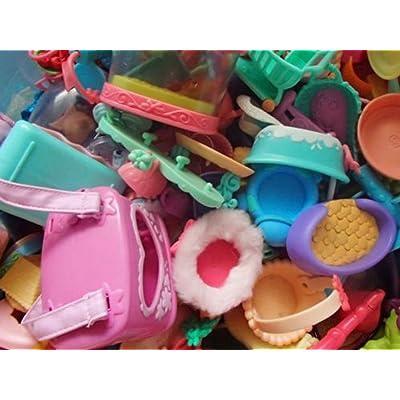 Littlest Pet Shop SURPRISE GRAB BAG 10 PC RANDOM LOT of ACCESSORIES LPS: Toys & Games