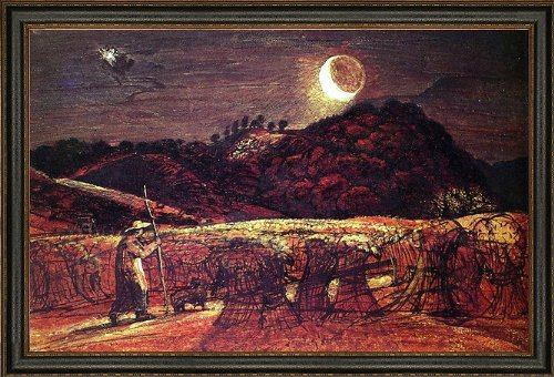 Art Oyster Samuel Palmer Cornfield by Moonlight - 18.05