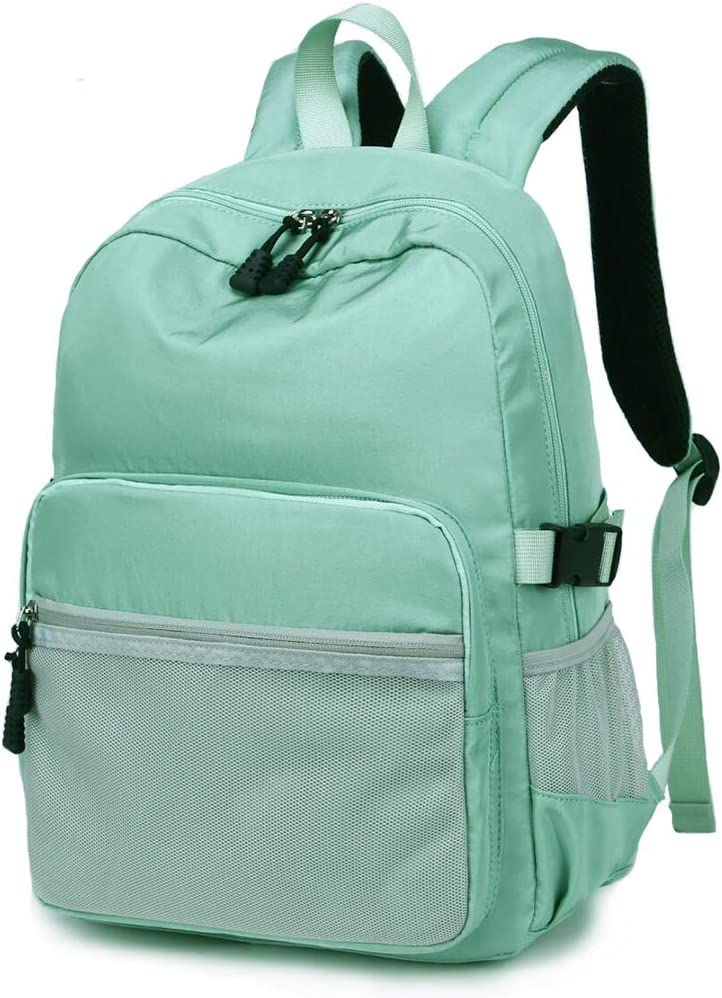 Casual Style Lightweight Backpack School Bag Travel Daypack (Fruit Green)