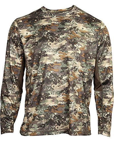Rocky Mens Rocky Stratum Long Sleeve Tee Shirt  Rocky Venator Camouflage  Large