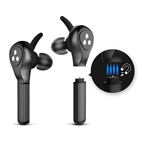 Syllable True Wireless Earbuds with Detachable Replacement Battery c1b91734865a