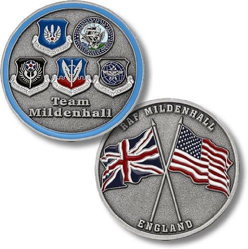 RAF Mildenhall、イギリス – Five Seals Challenge Coin   B00JFG39UI