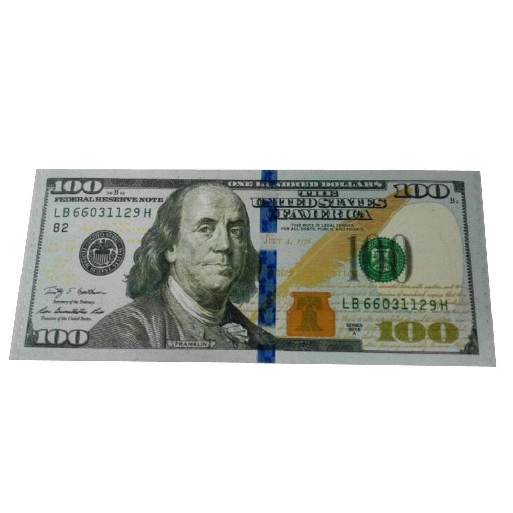Men US Dollar//Euro//Pound Bill Design Mighty Wallet Mens Billfold Wallets
