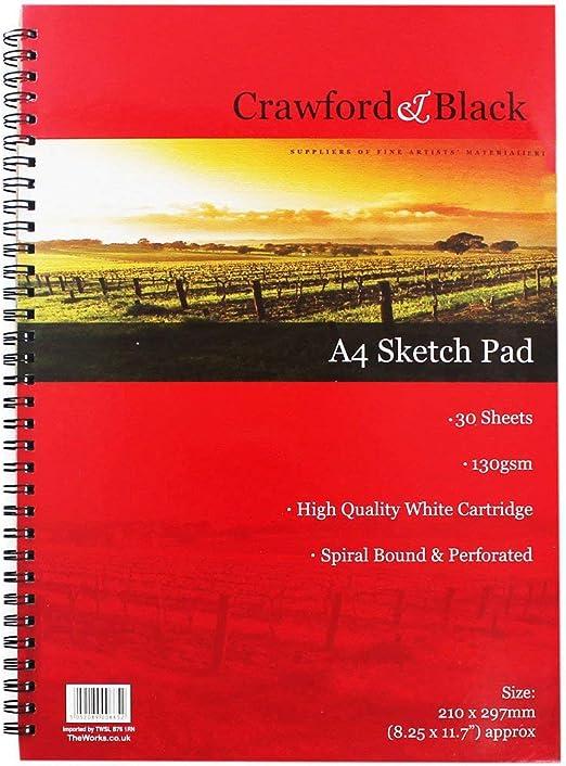 Crawford and Black A4 Sketchbook
