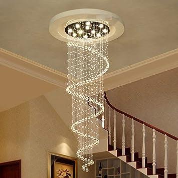 BOC la lámpara de iluminación de Crystal, Doble Escalera ...