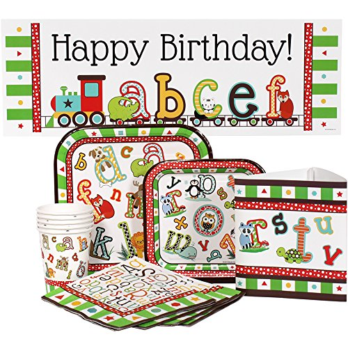 Alphabet Zoo Party Package for 16 Guests for sale  Delivered anywhere in USA