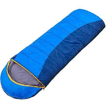 ZXQZ Saco de Dormir para Envolvente/Splicable/Adultos/Camping Senderismo Al Aire Libre