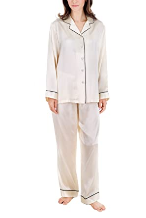 14c5c59bae OSCAR ROSSA Women s Luxury Silk Sleepwear 100% Silk Pajamas Set at ...