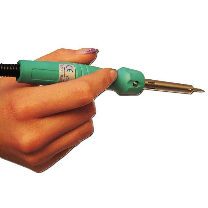 McVoice LK-3 - Set de soldadura (incluye estuche de plástico): Amazon.es: Bricolaje y herramientas