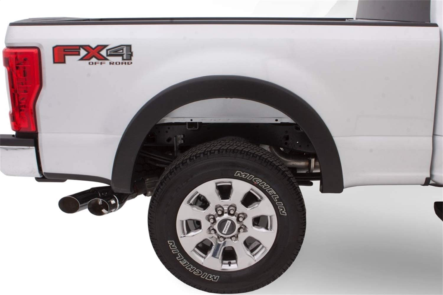Bushwacker 20948-02 Black OE Style 4-Piece Fender Flare Set for 2018-2019 Ford F-150