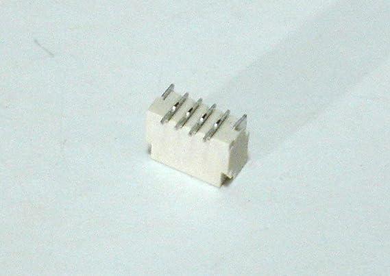 Mini Micro JST-SH Conector Hembra de 1 mm de 4 Pines con Enchufe de 100 mm y Cabezal de Entrada Macho Recto para Placa PCB x 20 Juegos: Amazon.es: Electrónica