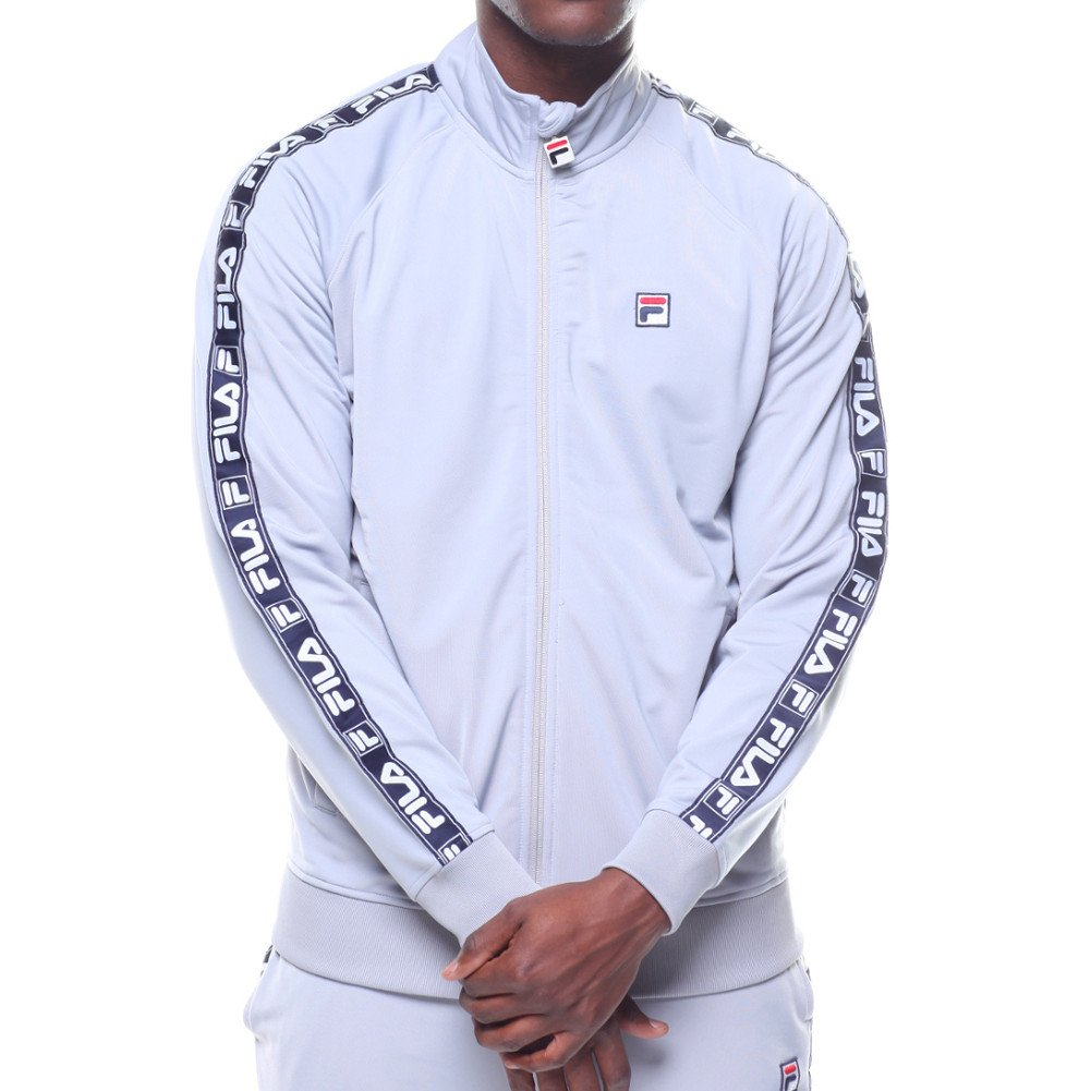 Amazon.com: Fila para hombre etiqueta Tricot chamarra: Clothing