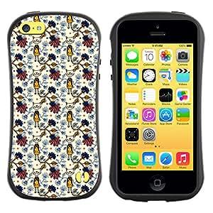 ArtSpace Premium Hybrid Back Case Cover Apple iPhone 5C ( White Kitty )