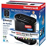 Honeywell True HEPA Bluetooth Air Purifier (HPA250BC) - Black