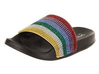 dd76dae7ca31 Skechers Women s Pop Ups - Pop Rock Black Multi Sandal 6 Women US   Amazon.co.uk  Shoes   Bags