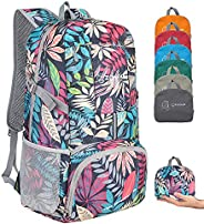 ZOMAKE Ultra Lightweight Hiking Backpack, 35L Foldable Water Resistant Travel Daypack Packable Backpack for Ou