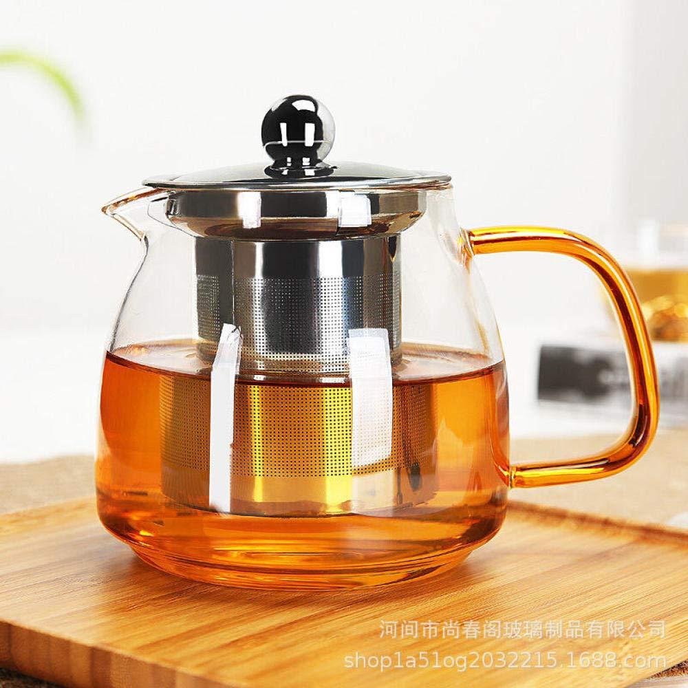 POTOLL Teiera con Filtro Bollitore per tè bollito in Vetro ad Alto tenore di borosilicato, Vetro bollente, teiera bollita, teiera bollita @a Prezzi