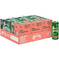 30-Pack Perrier Sparkling Flavored Natural Mineral Water, 8.5-ounce (Watermelon)