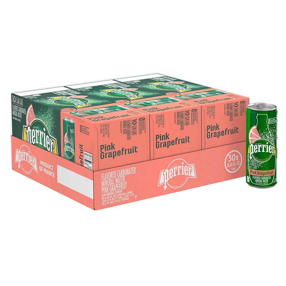 8580670191 Perrier Green Apple Flavored Carbonated Mineral Water, 8.45 fl oz. Slim  Cans (30 Count): Amazon.com: Grocery & Gourmet Food