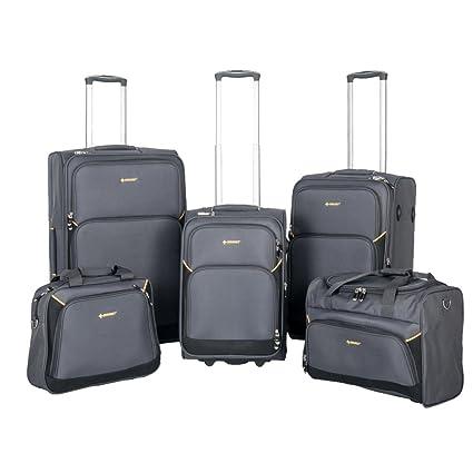 NEWEST - Juego de maletas Grey&Black 15