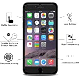 SHOPKART Edge to Edge Tempered Glass Screen Protector for iPhone 7 Transparent
