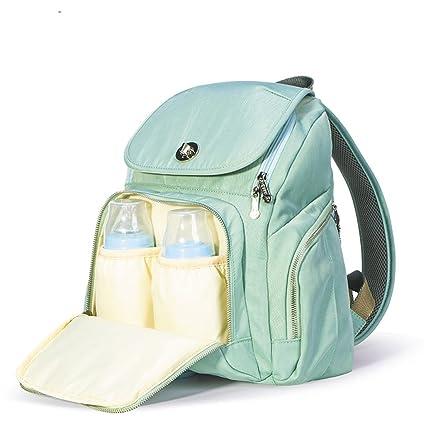 OYHBV Moda momia maternidad bebé pañalera bolsa de pañales ...