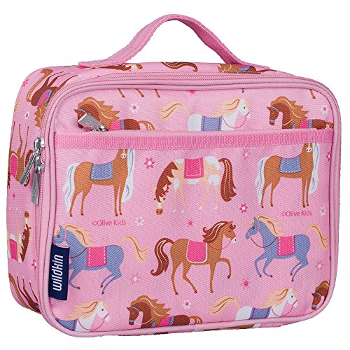 Wildkin 33708 Lunch Box Kit, Horses, One Size