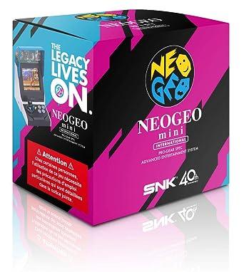 NEOGEO Mini Console: International Version: Amazon co uk: PC & Video