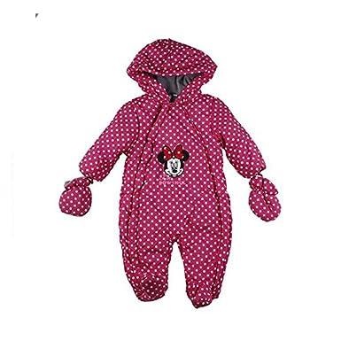 Minnie-Traje interior de forro polar para bebé, color fucsia ...