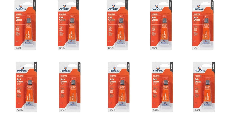 Permatex  85184 Bulb Grease, 5 fl. oz (5 Pairs) 10 Pack