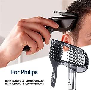Explea Peine De Límite De Cortapelos para Philips HC3400 / HC3410 ...