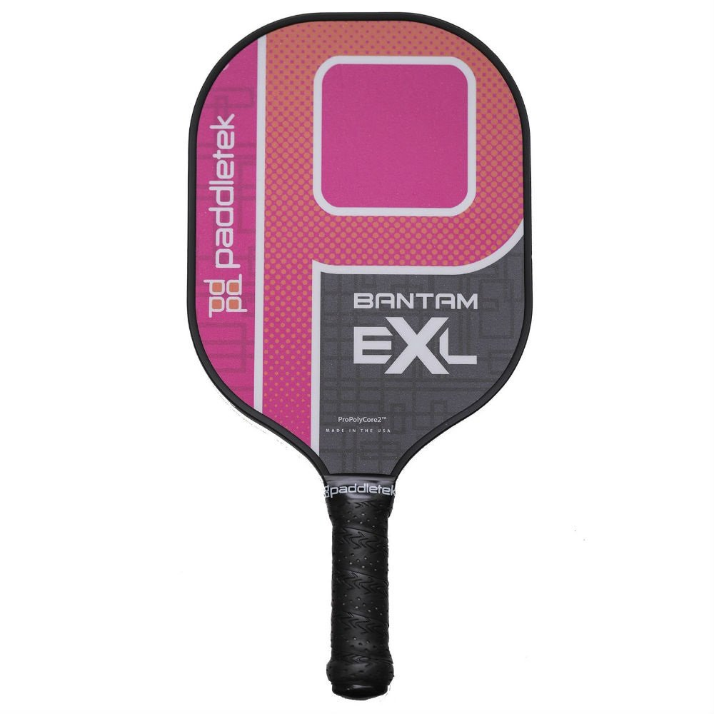 Paddletek Bantam EX-L Pickleball Paddle | Pink | 2018 by Paddletek