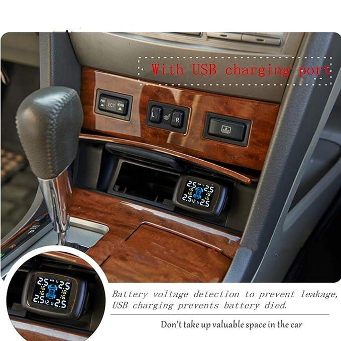 Hi-azul TPMS Sistema de Control de Presión de Neumáticos ...
