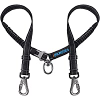 IOKHEIRA 4-in-1 Dual Dog Seat Belt