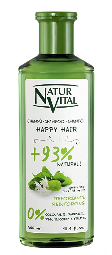 Natur Vital Happy Hair Reforzante Champú - 300 ml