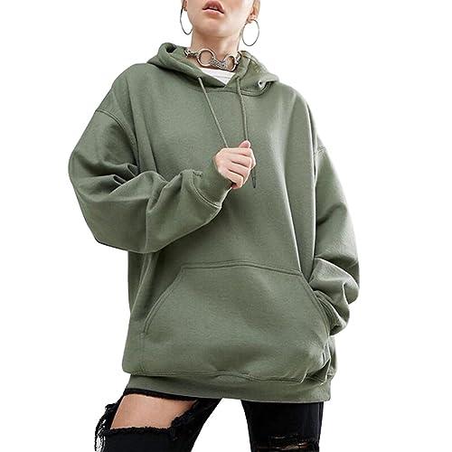 JianFeng - Abrigo - para mujer verde Ejercito Verde