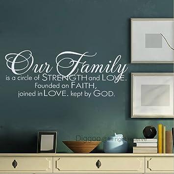 Amazon.com: Nuestra familia un círculo de fuerza y amor ...