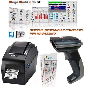 BARCODEYES Gestión almacén Sistema Completo Barcode ...