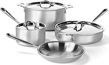 All-Clad MC2 Professional Master Chef 2 7-Pc. Cookware Set
