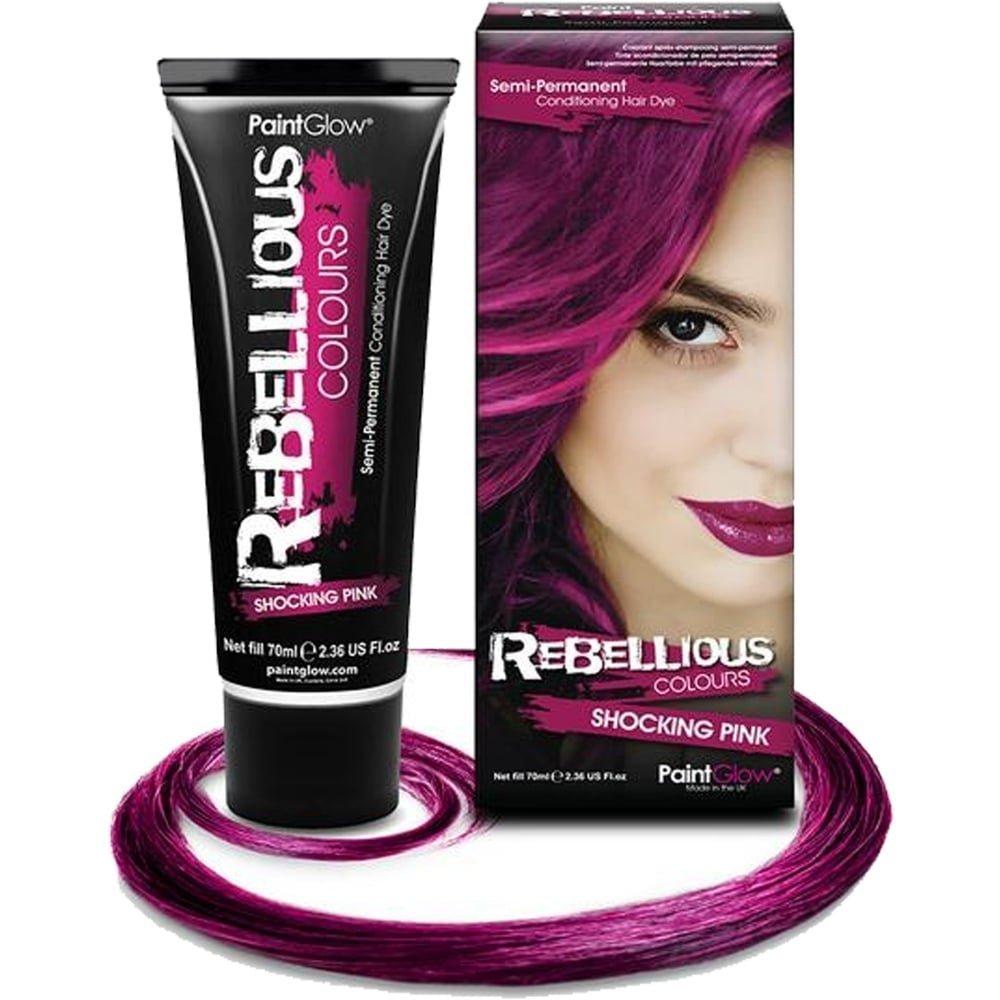 Generique - Teinture Semi permanente pour Cheveux Fuschia 70 ML